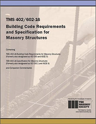 TMS 402/602-16 Building Code Requirements