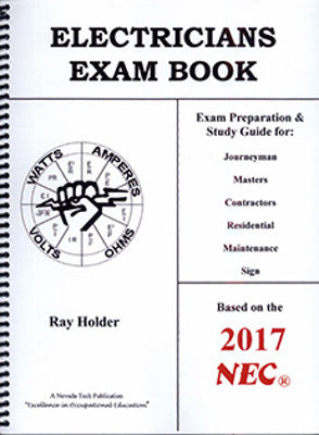Electricians Exam Book 2017 NEC