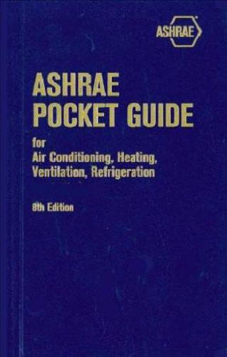 ASHRAE Pocket Guide (SI), Eighth Edition