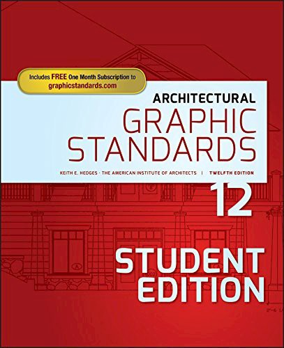 Architectural Graphic Standards, (Student) 12th Edition