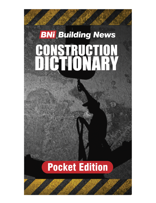 BNi Construction Dictionary Pocket Edition