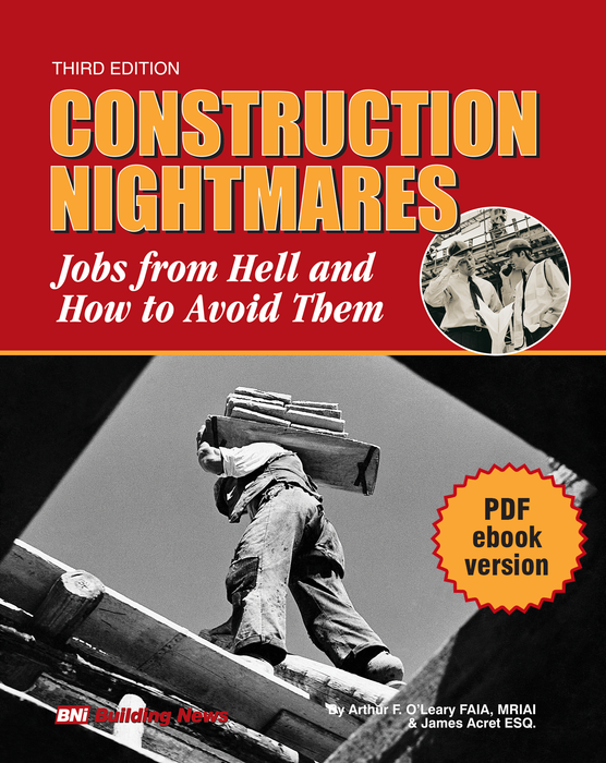 Construction Nightmares: Jobs from Hell and How to Avoid Them - pdf eBook Download