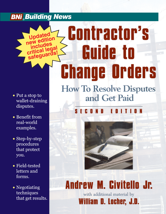 Contractor's Guide to Change Orders