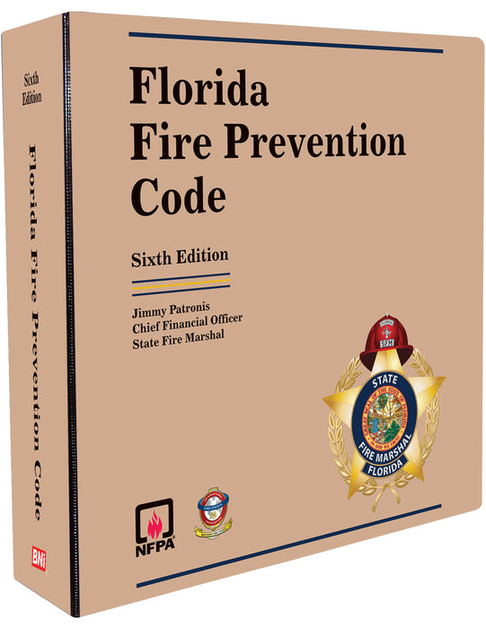 Florida Fire Prevention Code  Sixth Edition