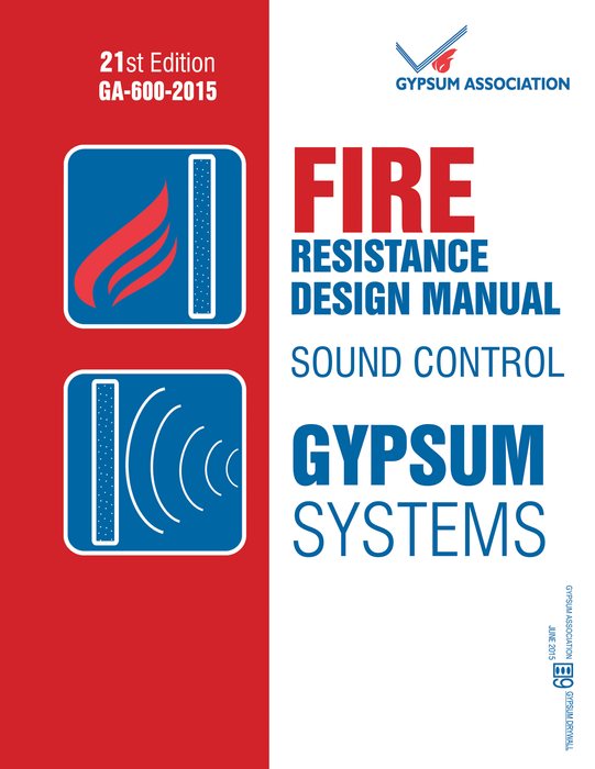 GA-600-2015: Fire Resistance Design Manual - 21st Edition