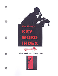 Tom Henry's 2017 Key Word Index