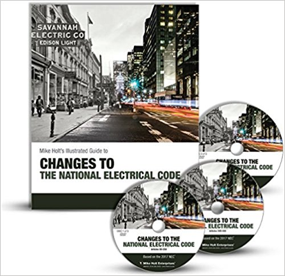 2017 Mike Holt NEC Changes Book and DVD Combo
