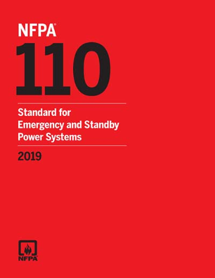 NFPA 110 Emergency and Standby Power Systems 2019