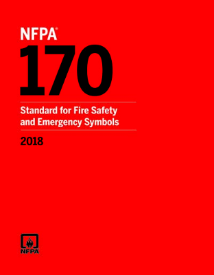 NFPA 170: Standard for Fire Safety and Emergency Symbols, 2018 Edition