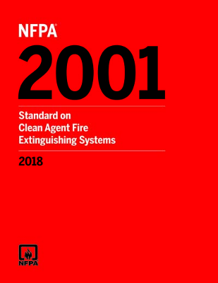NFPA 2001 Standard on Clean Agent Fire Extinguishing Systems 2018