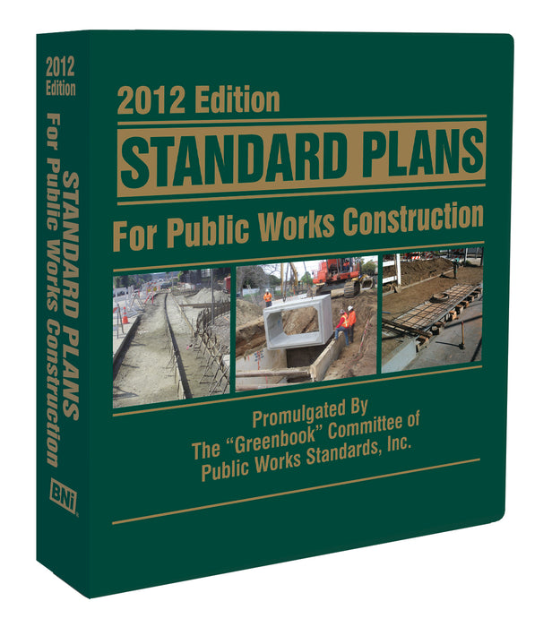 Standard Plans for Public Works Construction