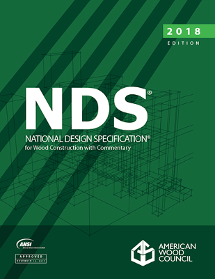 NDS and Wood Design Package, 2018 Edition