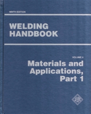 AWS WHB-4.9 Welding Handbook Volume 4 - Materials And Applications Part 1