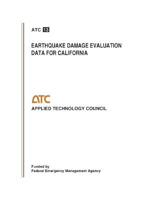 Earthquake Damage Evaluation Data for California