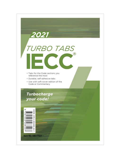 Energy Conservation Code Turbo Tab