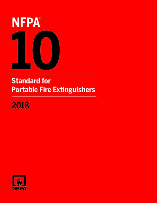 2018 NFPA 10 Standard for Portable Fire Extinguishers