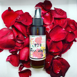 H2H Rose Water  4oz Bottle