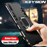 KEYSION Shockproof Case For Samsung Galaxy A50 A30 A20 A10 A70 A40 A80 A60 A90 A50s A30s Note 9 10 Plus S10 S9 S8 Phone Cover for Samsung A7 2018 M20