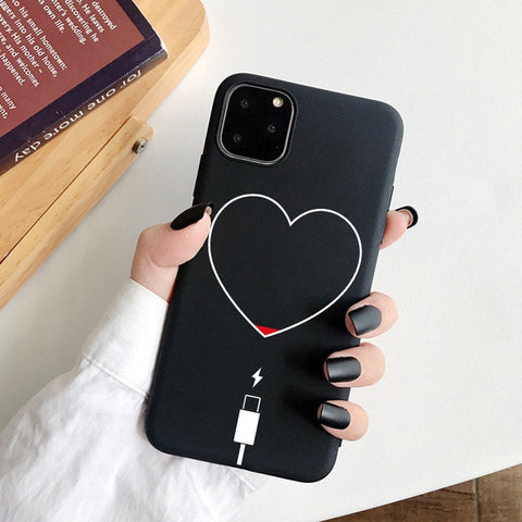 Girl Body Lover Rose Soft Case For iPhone 7 8 Plus X XS Max XR Coque Case For iphone 5 5s SE 6 6s Plus 11Pro Phone Cover Couple