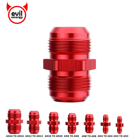 evil energy AN4 Straight Male Flare Union Adapter Fittings Nitrous