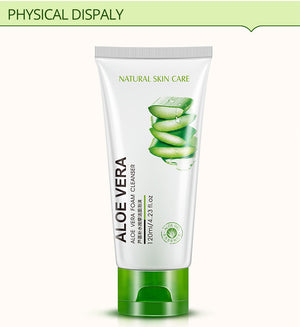 100g Aloe Vera Extract Collagen Hydrating Repair Facial Cleanser