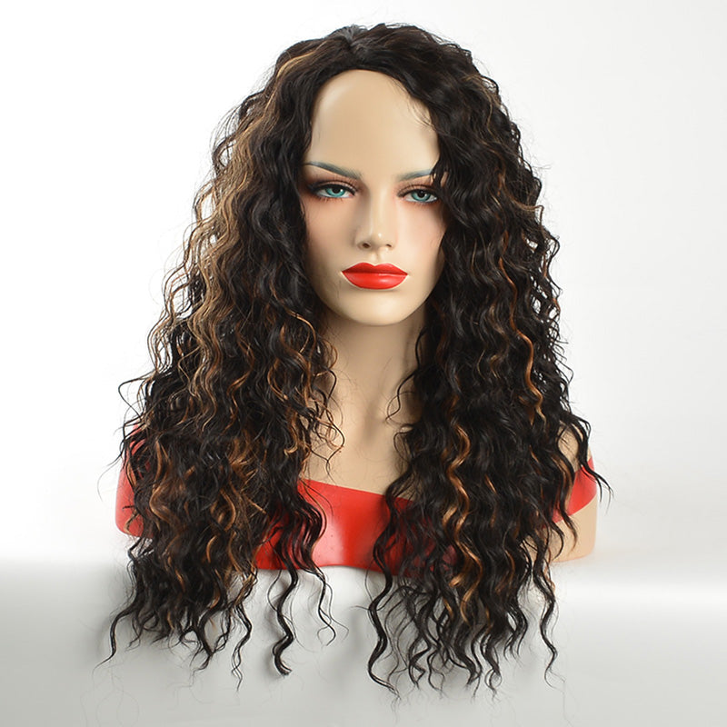 African American Ombre Curly Wigs for Women