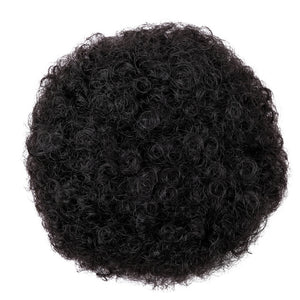 Puff Afro Wig Drawstring Short Afro Kinky Pony Tail
