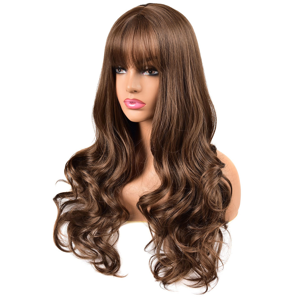 Black Women African American Synthetic Hair Wigs