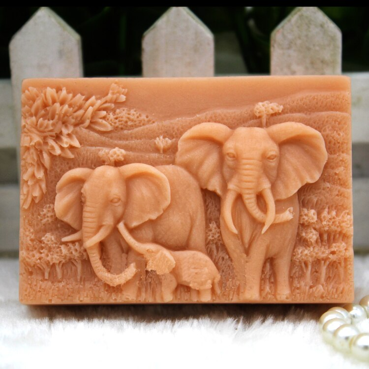 Silicone mold Handmade animals soap