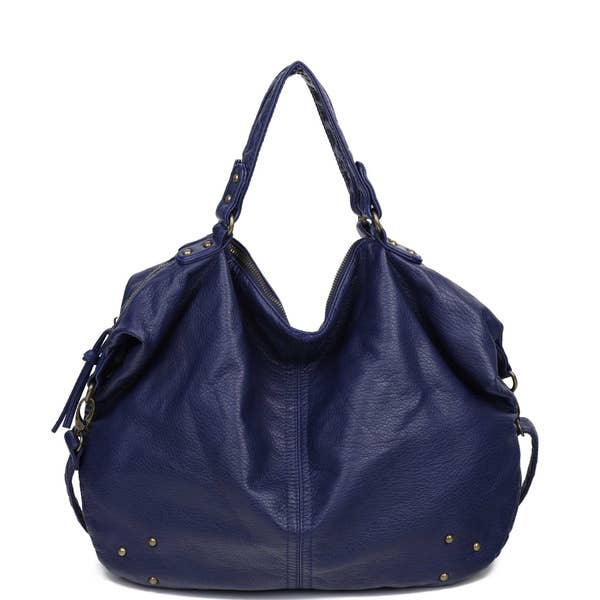 Navy Blue Purse - Altered Apparel Boutique