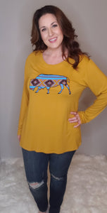 Alexa Long Sleeve Top - Altered Apparel Boutique