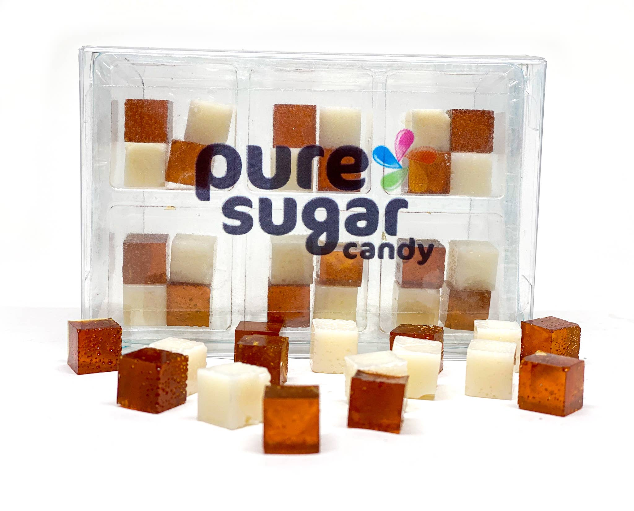 Root Beer Float - Candy Cubes