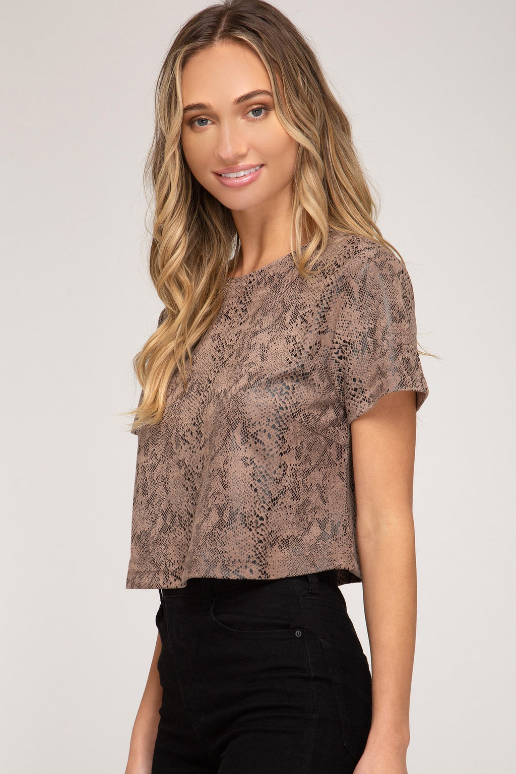 Britt Crop Top - Altered Apparel Boutique