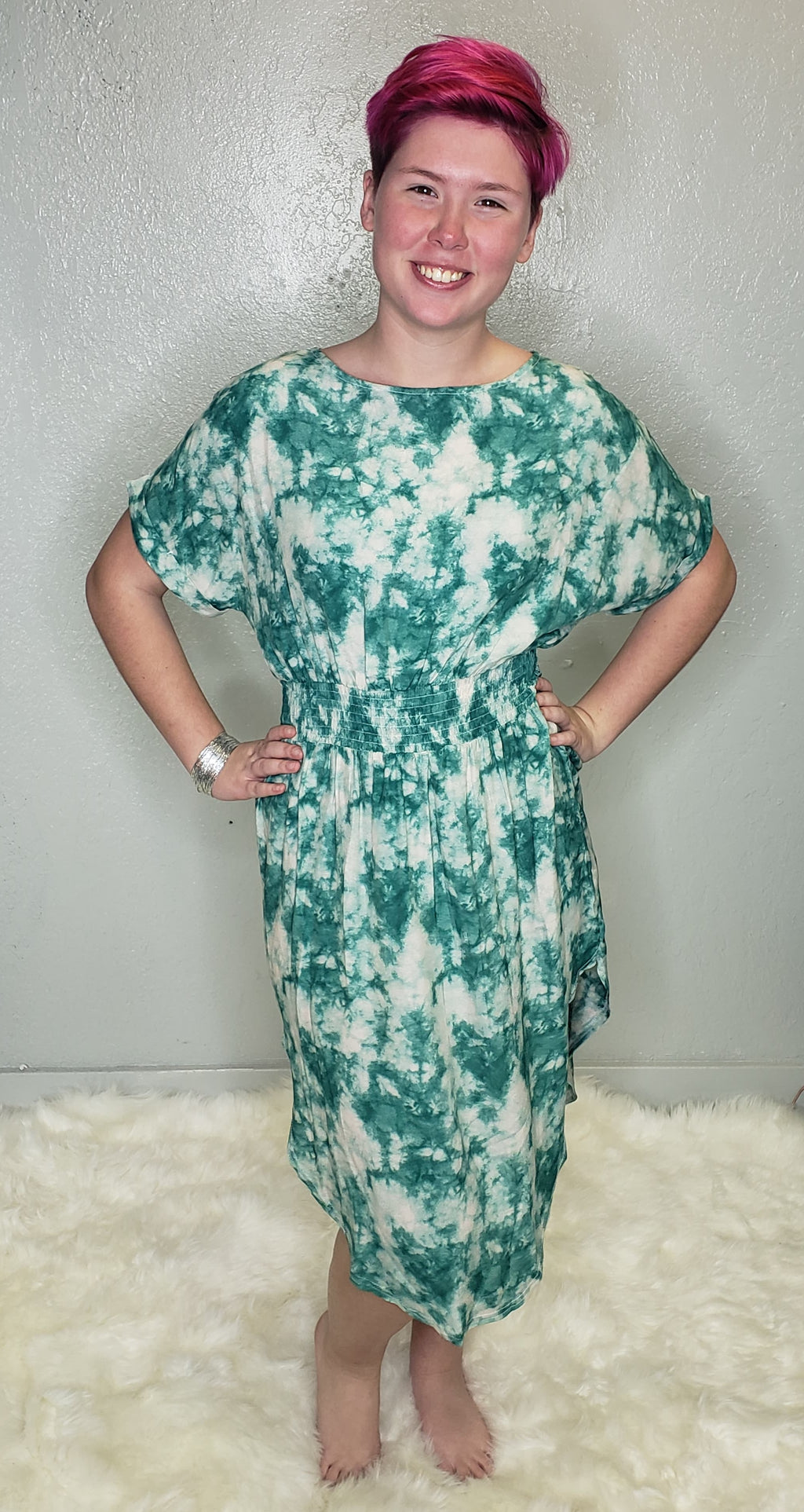 Camille Tie-Dye Dress - Altered Apparel Boutique