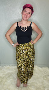 Cassidy Tie Front Wrap Skirt - Altered Apparel Boutique