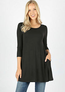 Liz Top-Black
