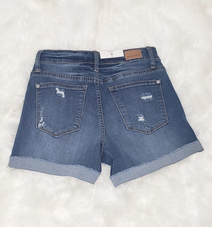 Judy Blue Distressed 2 Shorts - Altered Apparel Boutique
