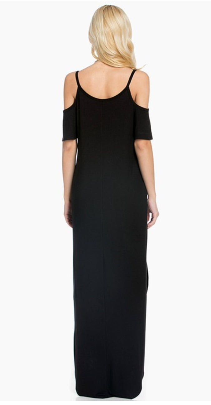 Eve Black Dress - Altered Apparel Boutique