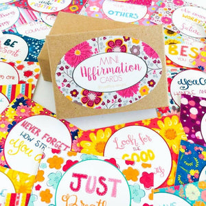 Mini Affirmation Cards Boxed Set