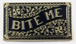 Bite Me Pin - Altered Apparel Boutique