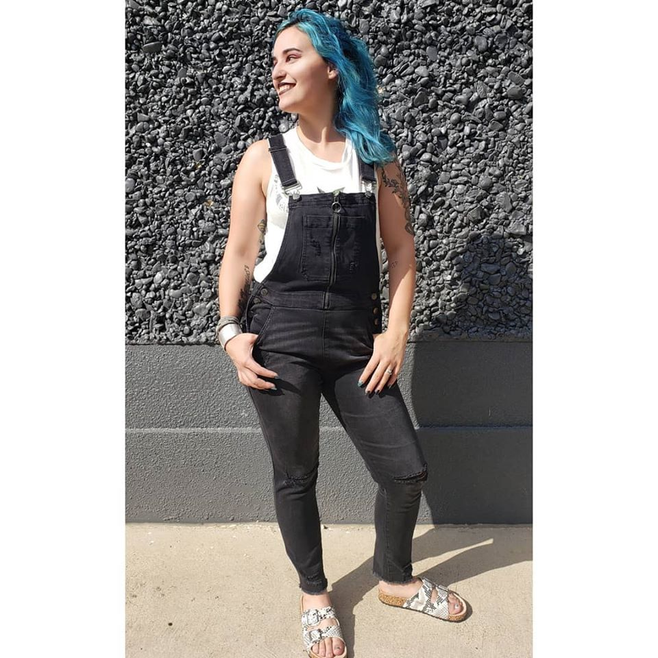 Black Overalls - Altered Apparel Boutique