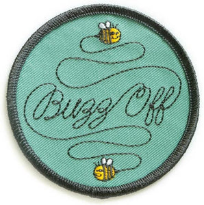 Buzz Off Patch - Altered Apparel Boutique