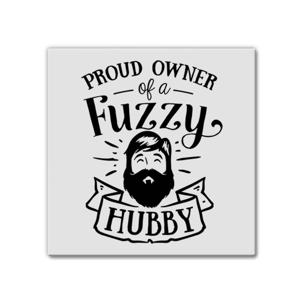 Fuzzy Hubby | Magnet