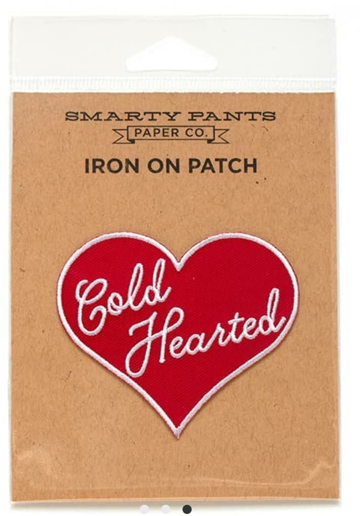Cold Hearted Patch - Altered Apparel Boutique