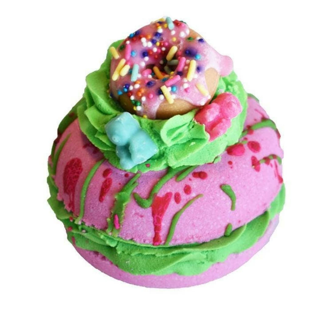 Yummy Gummy Donut Bath Bomb/Bubble Bar - Altered Apparel Boutique