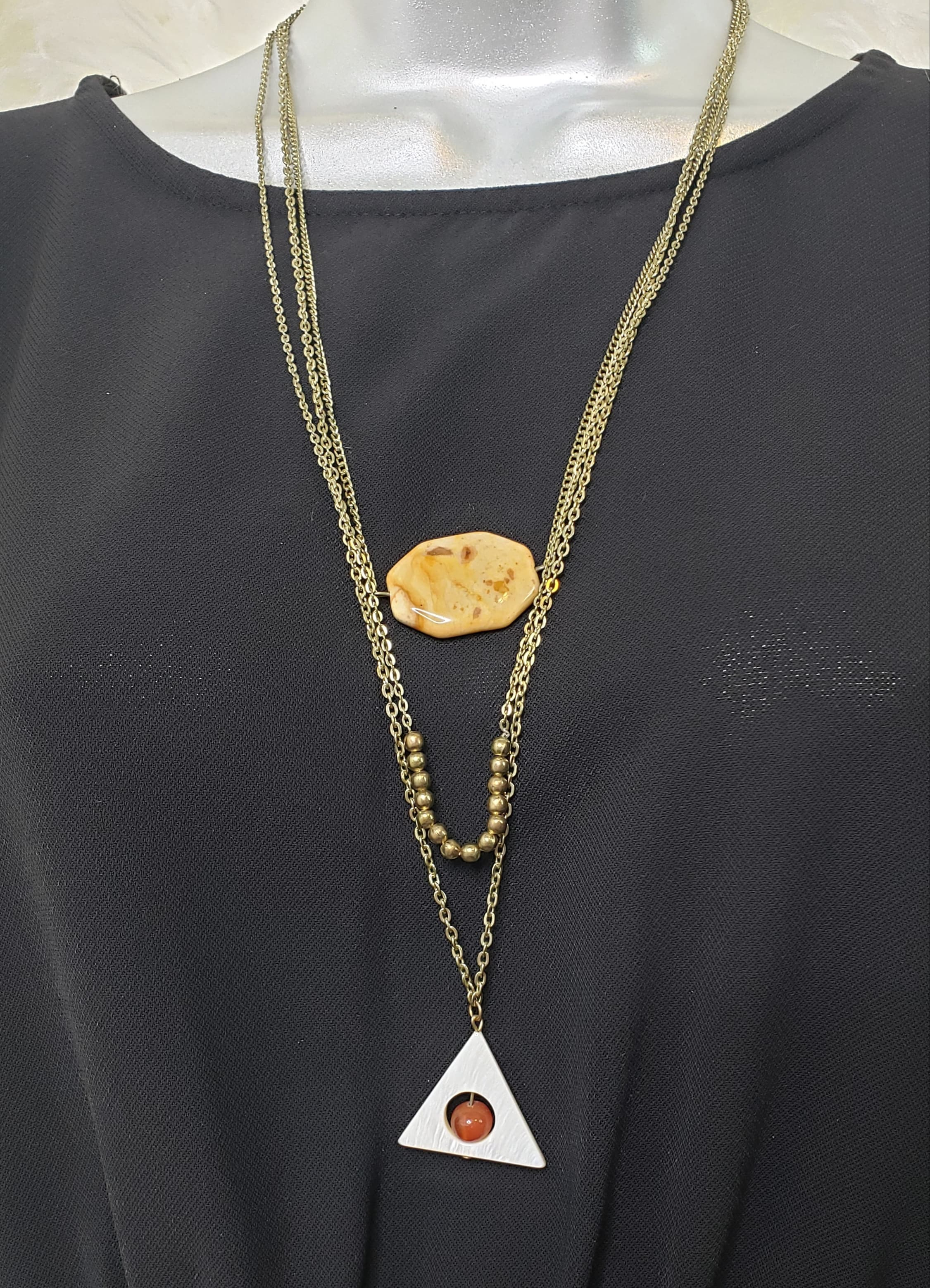 Geometric Necklace - Altered Apparel Boutique