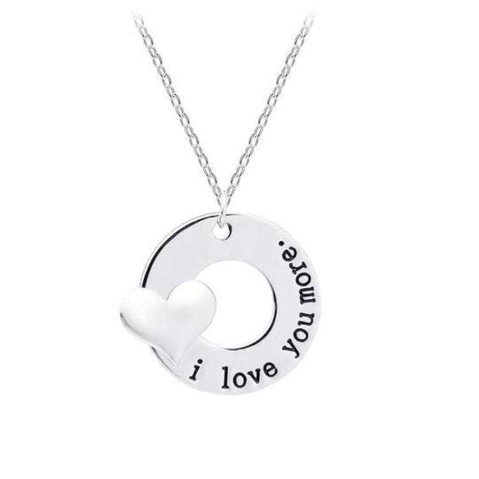 I Love You More Necklace - Altered Apparel Boutique