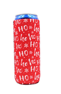 HoHoHo Slim Can Cooler