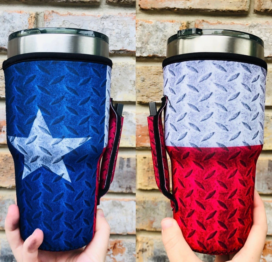 Texas Flag Handler - 30oz
