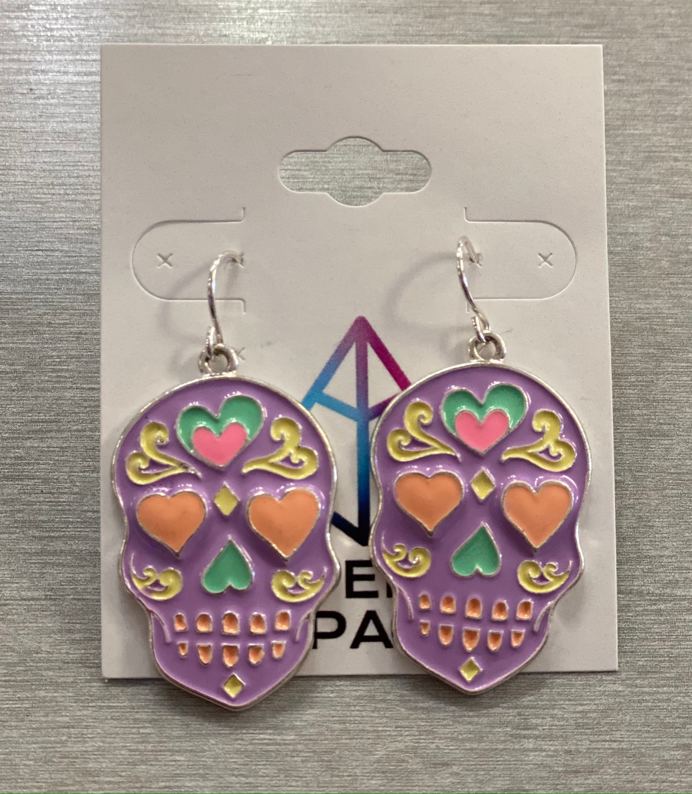 Purple Sugar Earrings